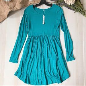 NWT, mid length dress
